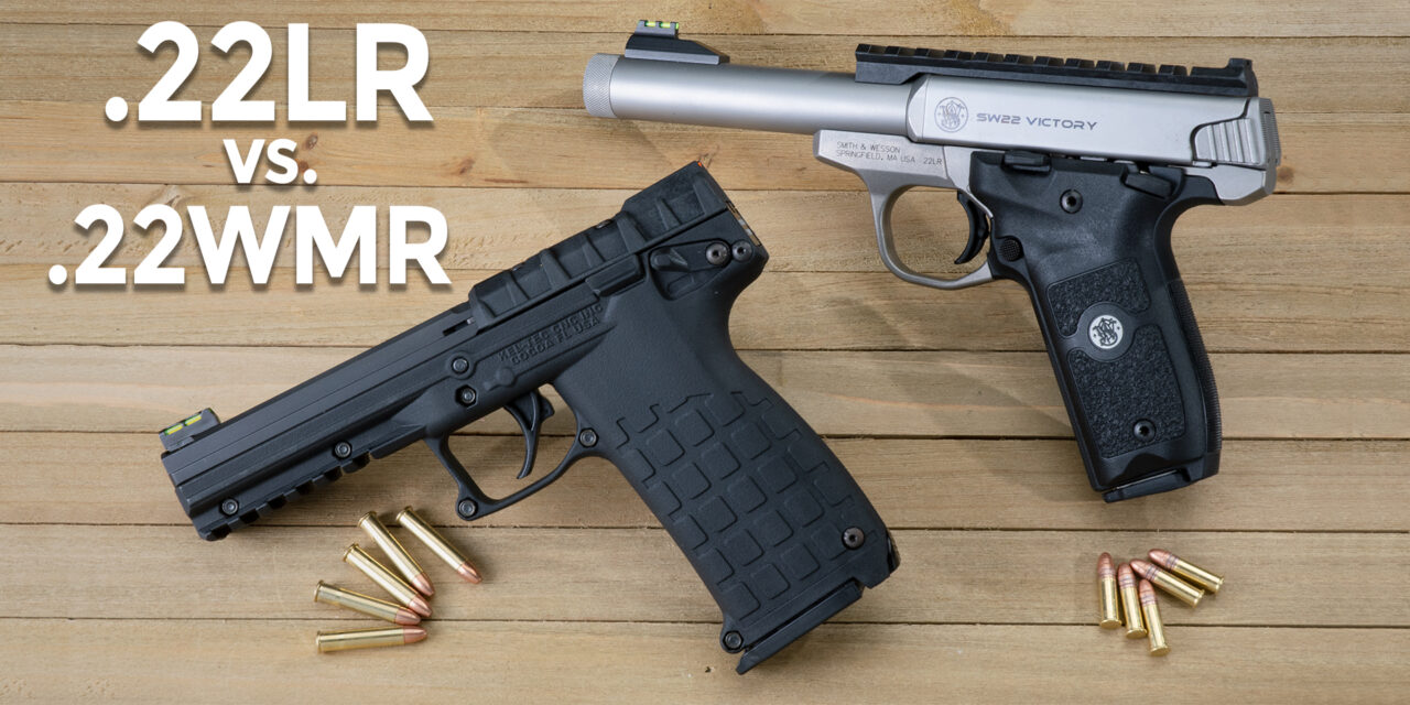 What's the Difference between 22LR vs 22WMR?