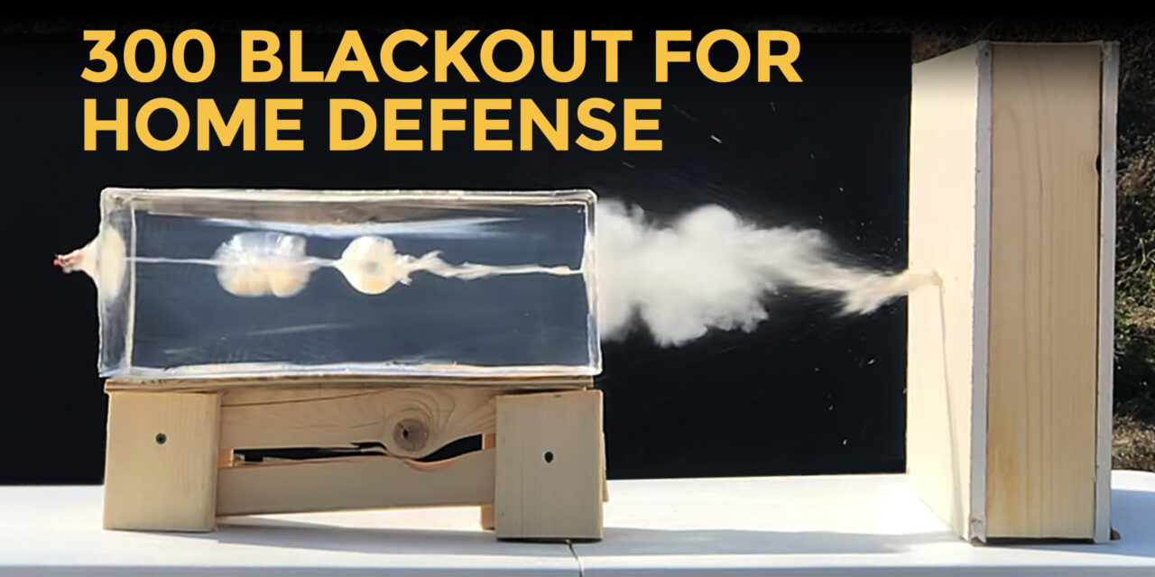 Using 300 Blackout For Home Defense
