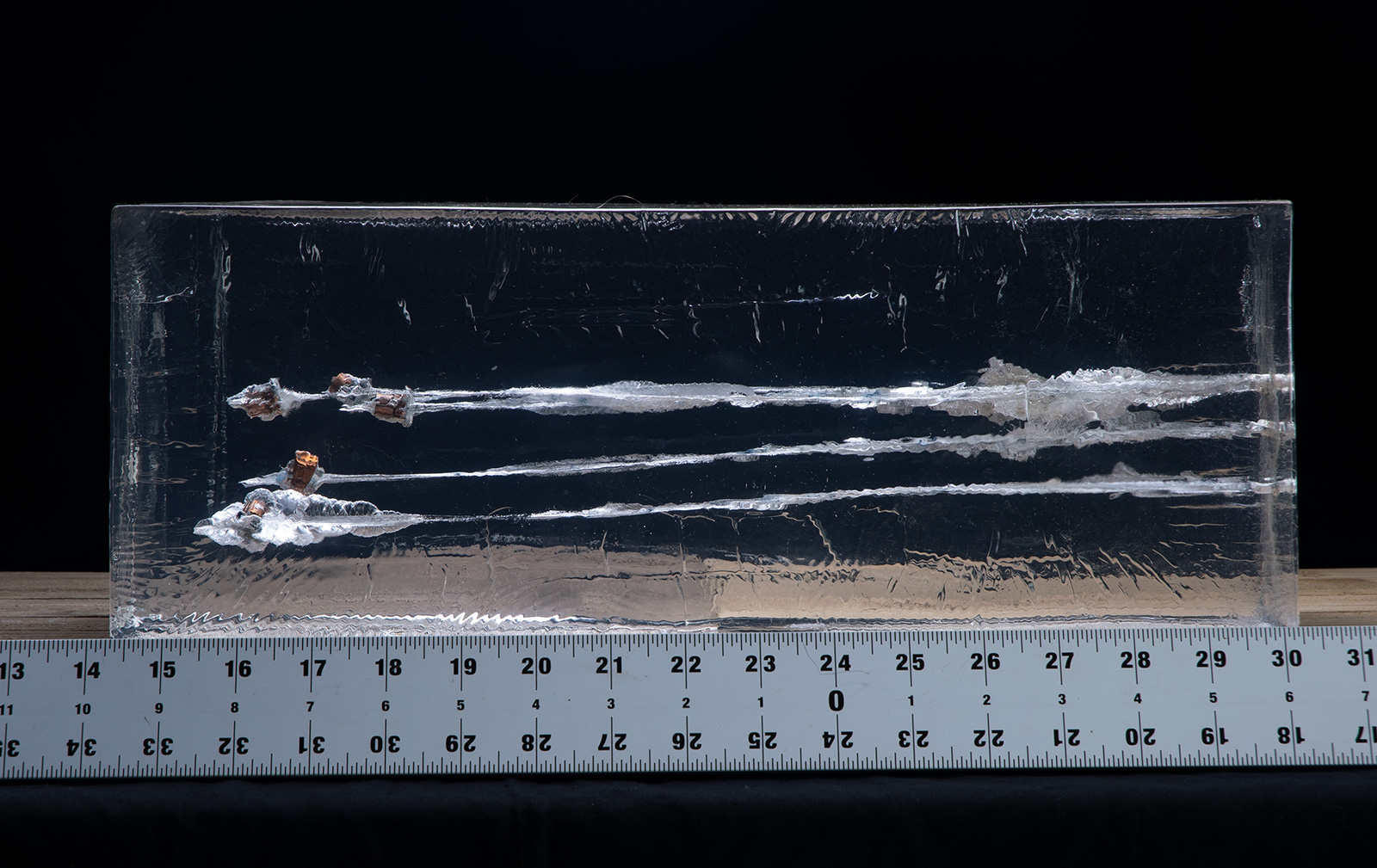 38 special gel testing results with fired bullets into gelatin