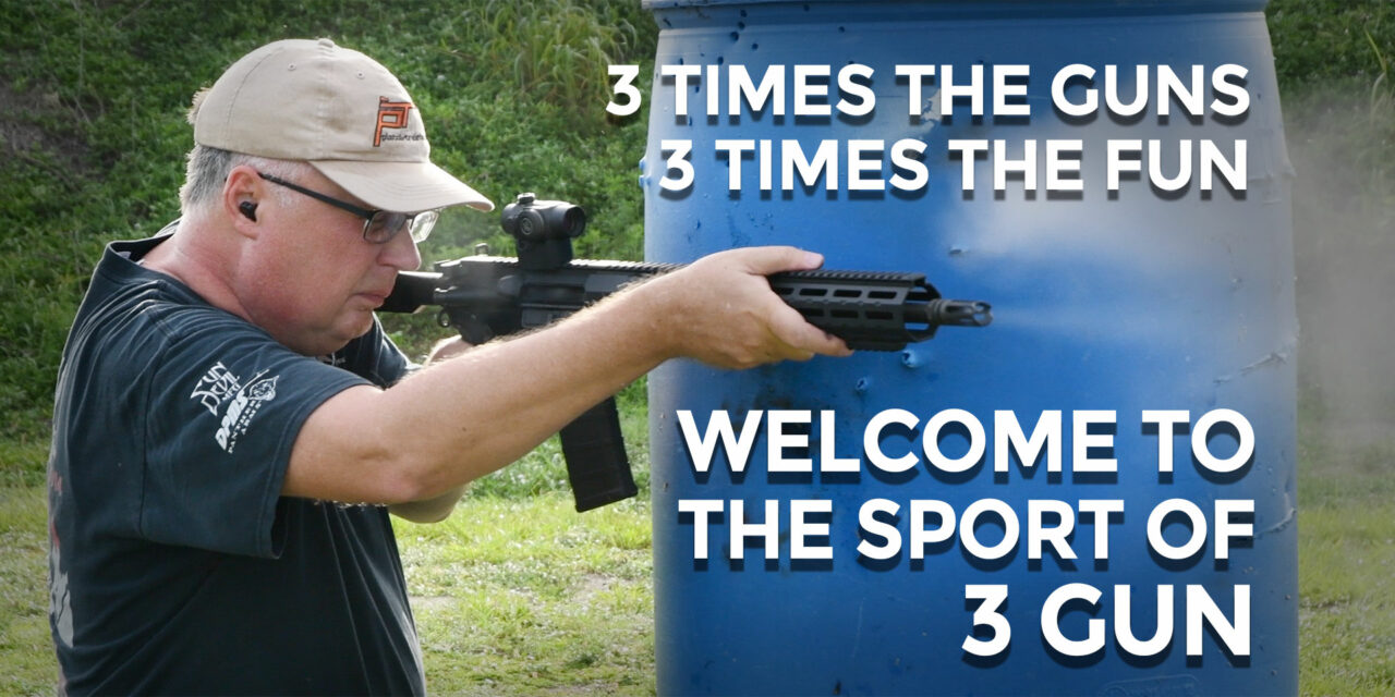 Getting Started In 3 Gun Competition