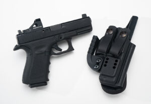 concealed carry holster and gun