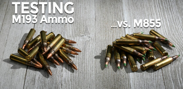 M855 vs M193 5.56mm Ammunition