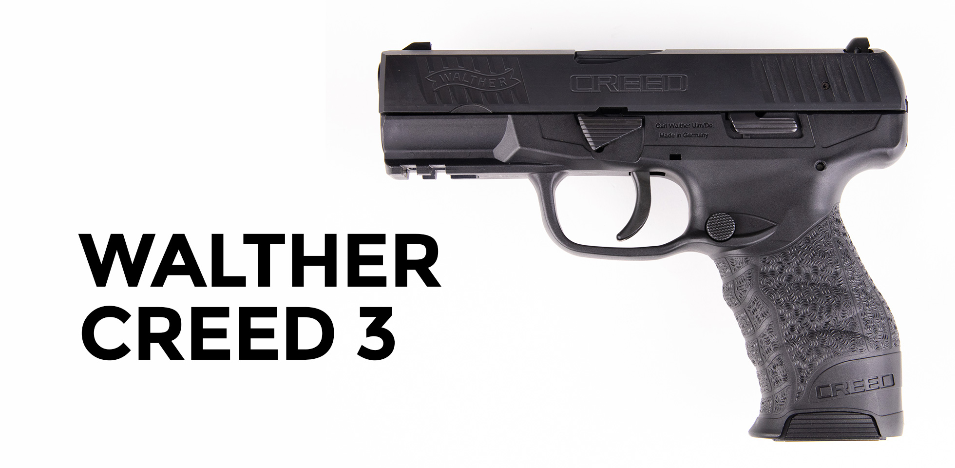 Walther Creed 3 9mm pistol