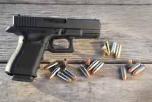 Best first gun? Probably a Glock 19
