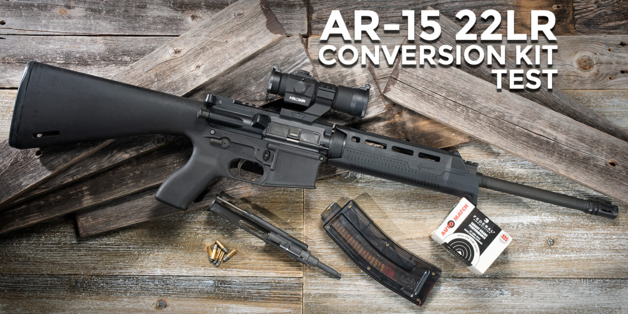 How Useful Is An AR-15 22 Conversion Kit?