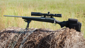 Bolt action rifle