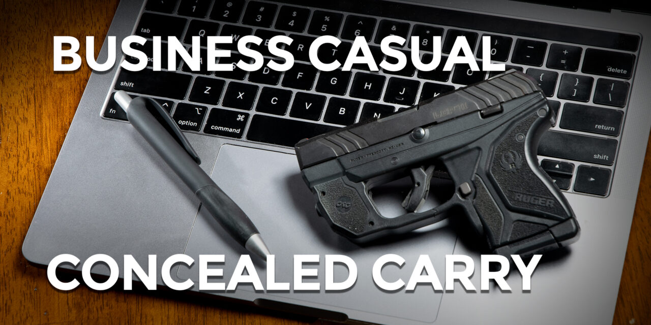 Concealed Carry In Business Casual Clothes