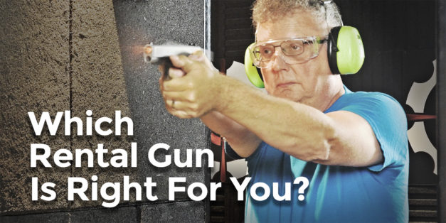 Choosing A Rental Gun At The Range