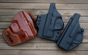Holsters are an essential part of concealed carry gear