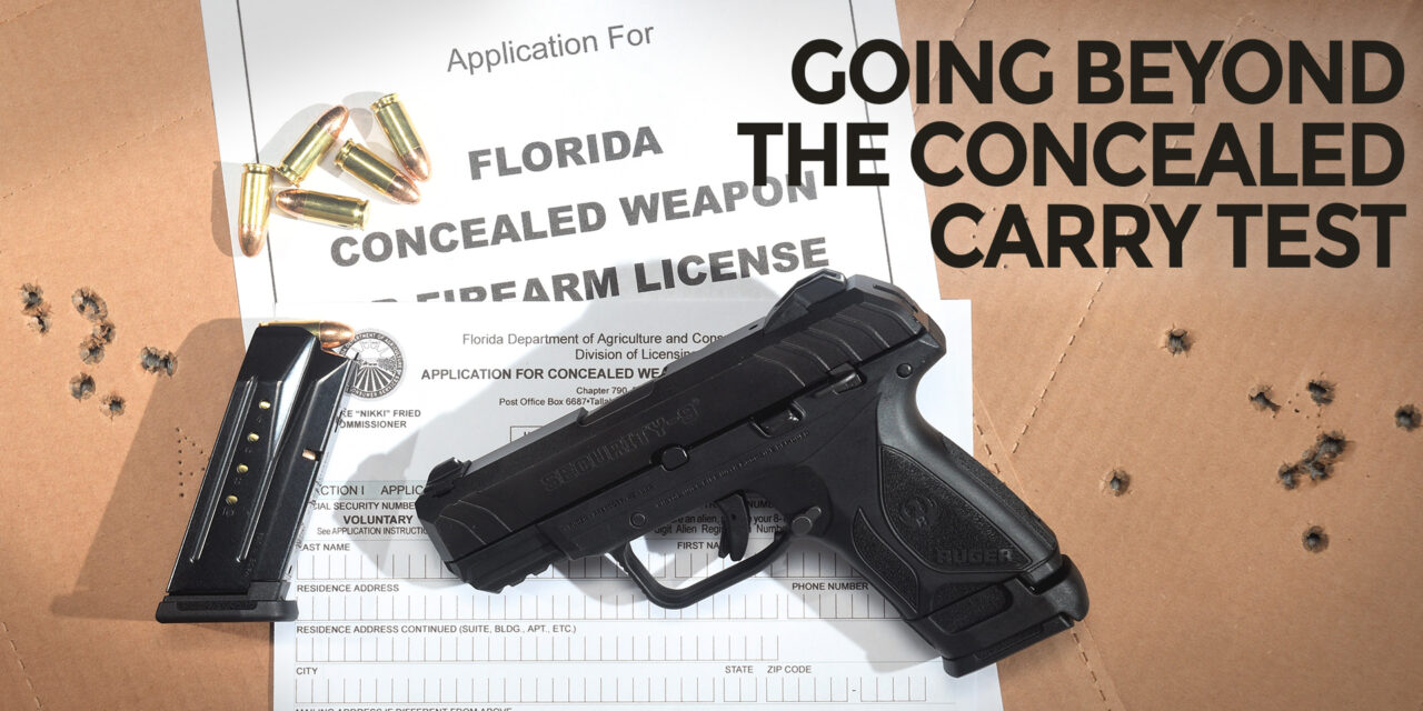 Putting Your Concealed Carry Test To The Test