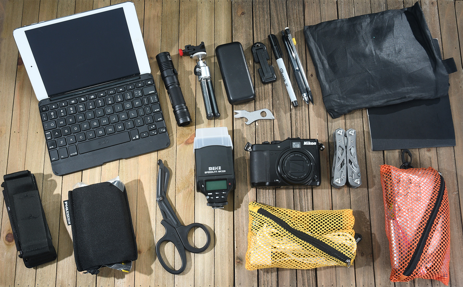 Everyday carry gear for a content creator