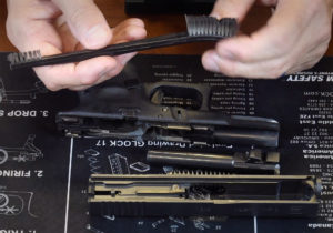 A brush used to clean a glock 19