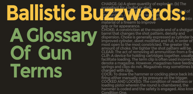 A Glossary Of Common Gun Terms