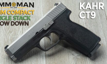 Kahr CT9 Compact Pistol Review