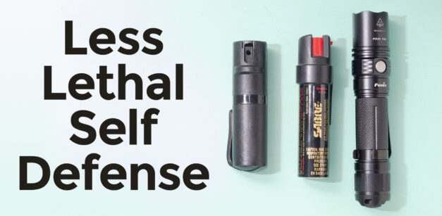 Non Lethal Self-Defense Options