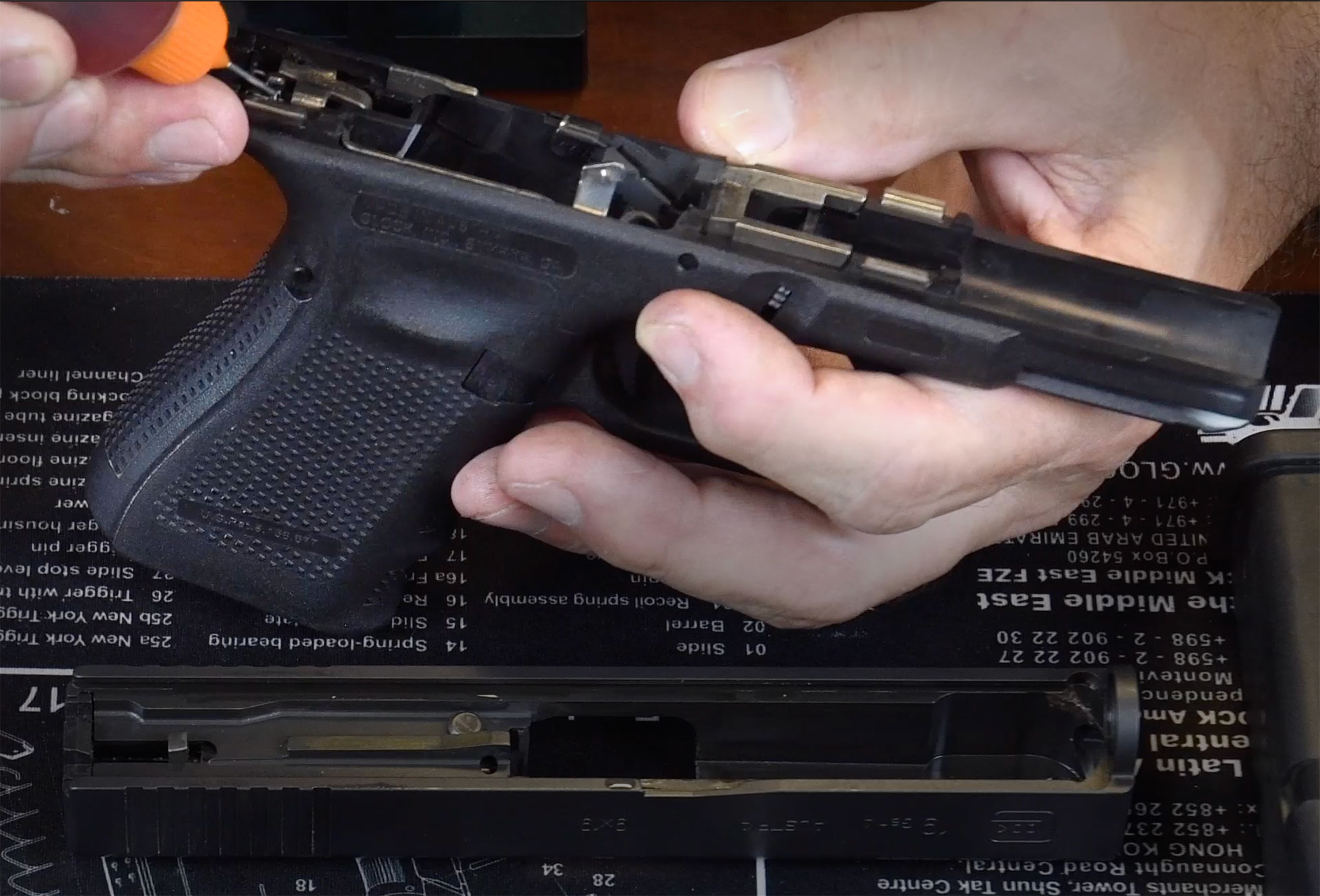 How To Clean A Glock 19 - Complete Disassembly Guide & Video