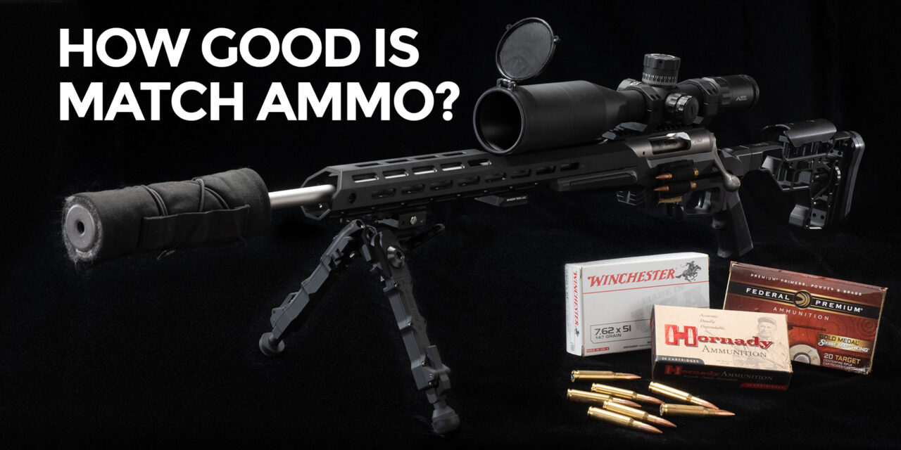 Does Match Ammunition Make A Difference?