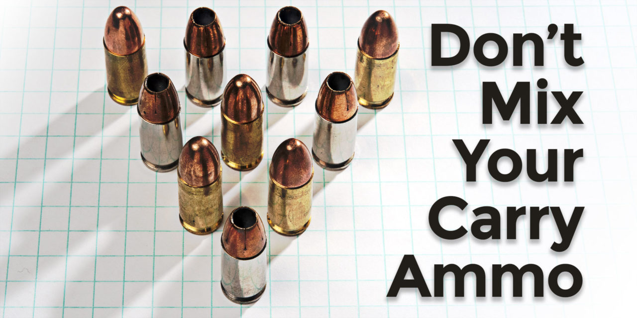 Gun Myths Debunked: Mixing Carry Ammo Types