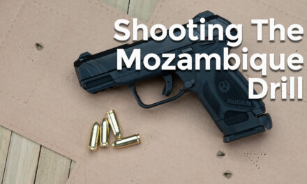 Standard Pistol Drills: The Mozambique Drill