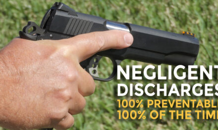 What Is A Negligent Discharge And How Can You Avoid It?