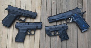 the gun term pistol covers all these firearms