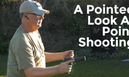 The Theory And (Occasional) Practice Of Point Shooting