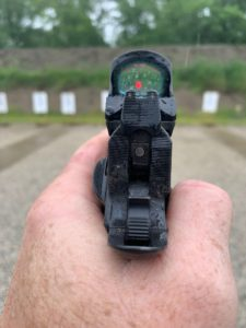 Setting up a red dot for your pistol
