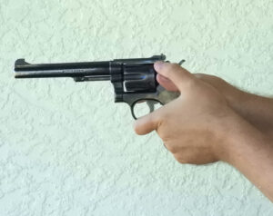 how to hold a revolver demonstrated