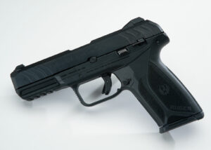 Ruger Security 9 pistol used in our review