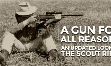 A Brief History Of The Scout Rifle
