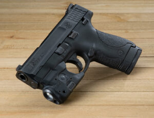 A top M&P Shield accessory, a laser sight
