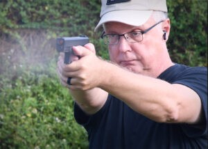 Shooting a Glock 19