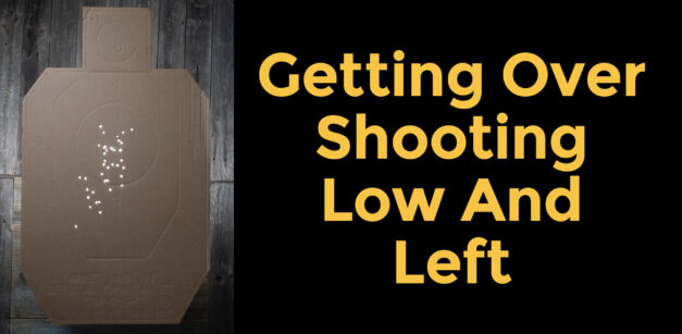 Getting Over Shooting Low And Left