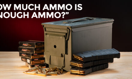 How Much Ammo Is Enough When SHTF