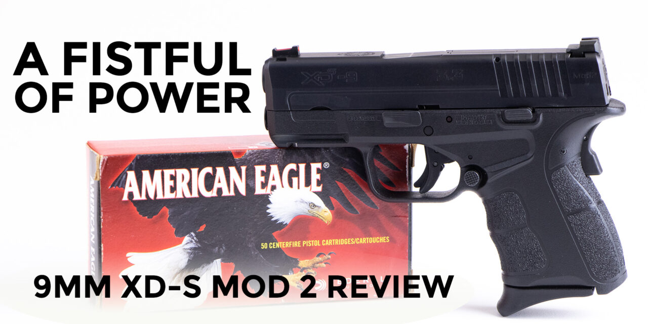 9mm Springfield Armory XD-S Mod 2 Review