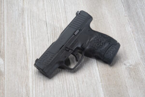 Walther PPS M2 pistol used in this review